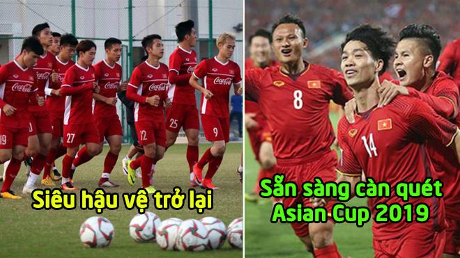 Đón tin vui đến từ siêu hậu vệ, ĐT Việt Nam có lực lượng mạnh nhất dự Asian Cup