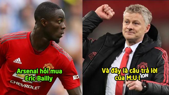 CHÍNH THỨC: Arsenal hỏi mua Bailly, Man Utd ra quyết định then chốt