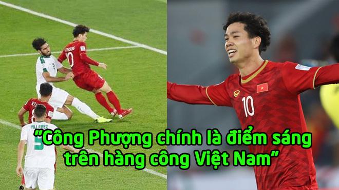 """Báo châu Á: """"Công Phượng chính là điểm sáng trên hàng công Việt Nam"""""""