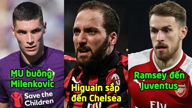 Chuyển nhượng 10/1: Ramsey đã là người của Juventus, Higuain sắp đến Chelsea