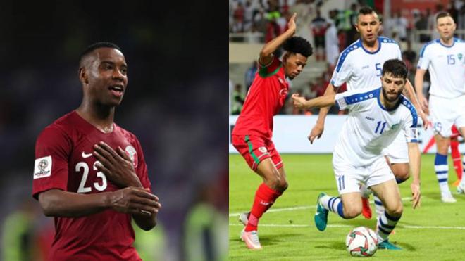 KẾT QUẢ Asian Cup 2019: Uzubekistan nhọc nhằn đánh bại Oman, Qatar thắng dễ Lebanon