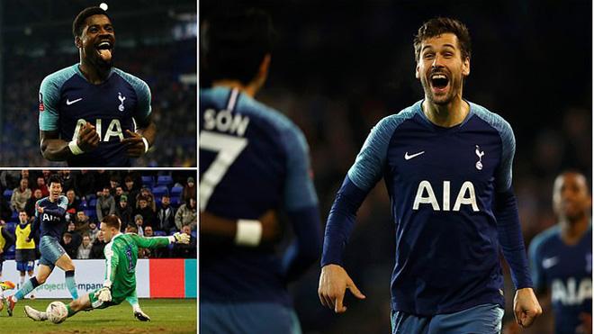 Ronaldo Hàn tiếp tục chuỗi trận thăng hoa, Tottenham đè bẹp Tranmere với tỉ số k.inh hoàng