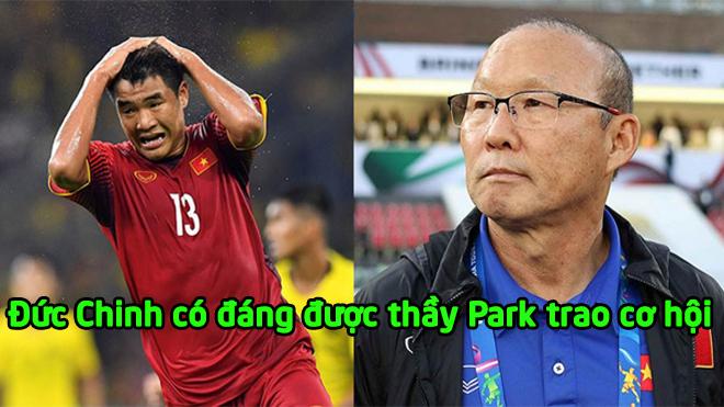 Hà Đức Chinh: 1 năm, 4 giải đấu lớn, 1 bàn thắng, liệu có xứng đáng để thầy Park trao cơ hội?