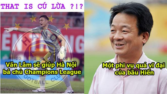 Cú lừa vĩ đại: Văn Lâm hủy kèo Thái Lan và sang Hà Nội FC, đội bóng của bầu Hiển quá mạnh rồi