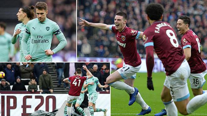 Khóc hận bởi người cũ, Arsenal nhận thất bại cay đắng trước West Ham