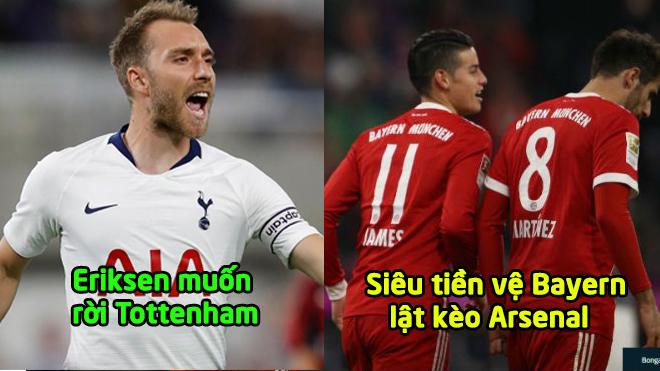 Chuyển nhượng 16/01: Siêu tiền vệ Bayern lật kèo Arsenal, M.U tiếp tay cho Real chiêu mộ sao 180 triệu Euro