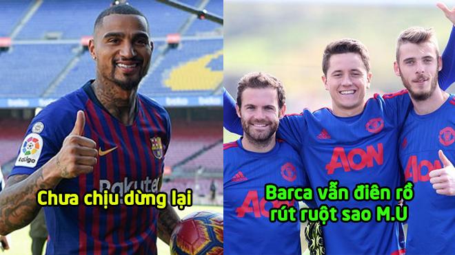Sau Boateng, Barcelona lại gây SỐ.C khi quyết tâm rút ruột MU với ngôi sao không thể thay thế này!