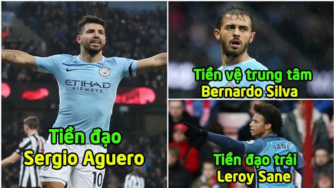 """Đội hình """"công thủ toàn diện"""" giúp Man City vượt khó trước Liverpool, sự mưu mẹo của Pep Guardiola"""