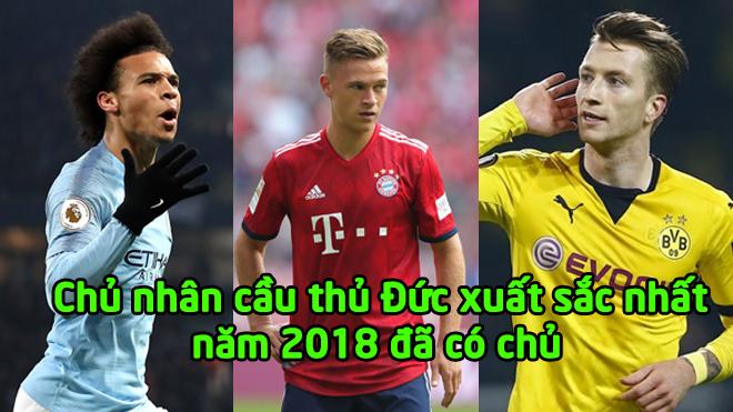 CHÍNH THỨC: Đã tìm ra cầu thủ Đức xuất sắc nhất năm 2018, anh ấy quá xứng đáng