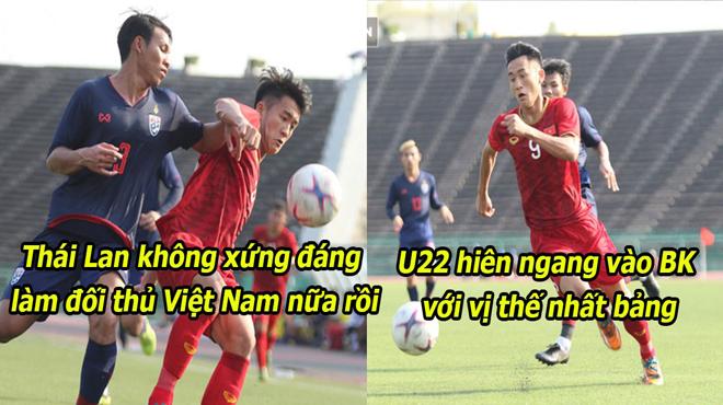 Dồn ép đối thủ đến những giây cuối cùng, U22 Việt Nam khiến Thái Lan nhận bài học thích đáng về cách chơi bóng