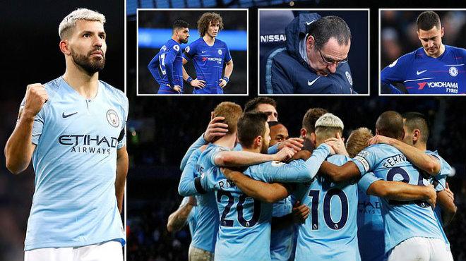 Kết quả Man City vs Chelsea: Tỷ số ki.nh hoàng, hat-trick siêu sao