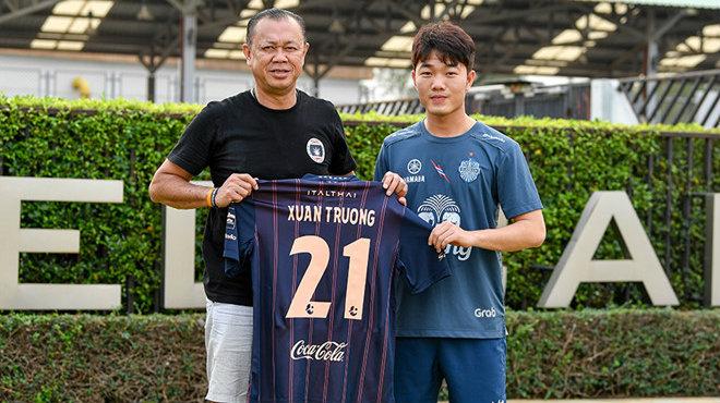 CHÍNH THỨC: Xuân Trường ra mắt Buriram United, mặc số áo 21 nhận lương siêu khủ.ng
