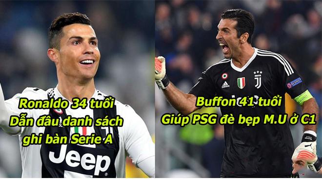 6 ông già trên 30 tuổi khiến mọi đối thủ phải run rẩy: Ronaldo cũng phải xếp dưới người này