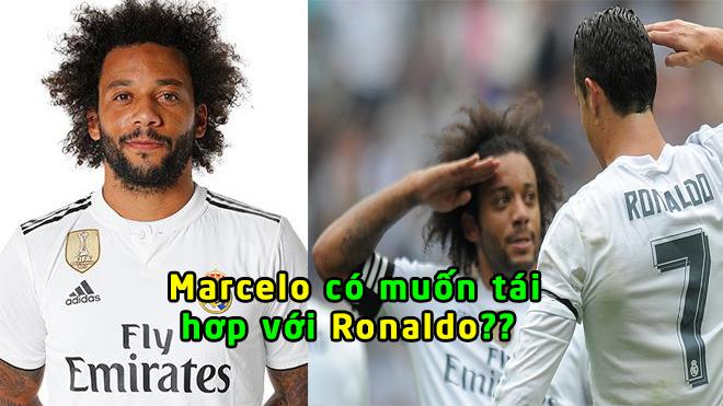 Xong! Real Madrid có câu trả lời về việc Marcelo tái hợp Ronaldo