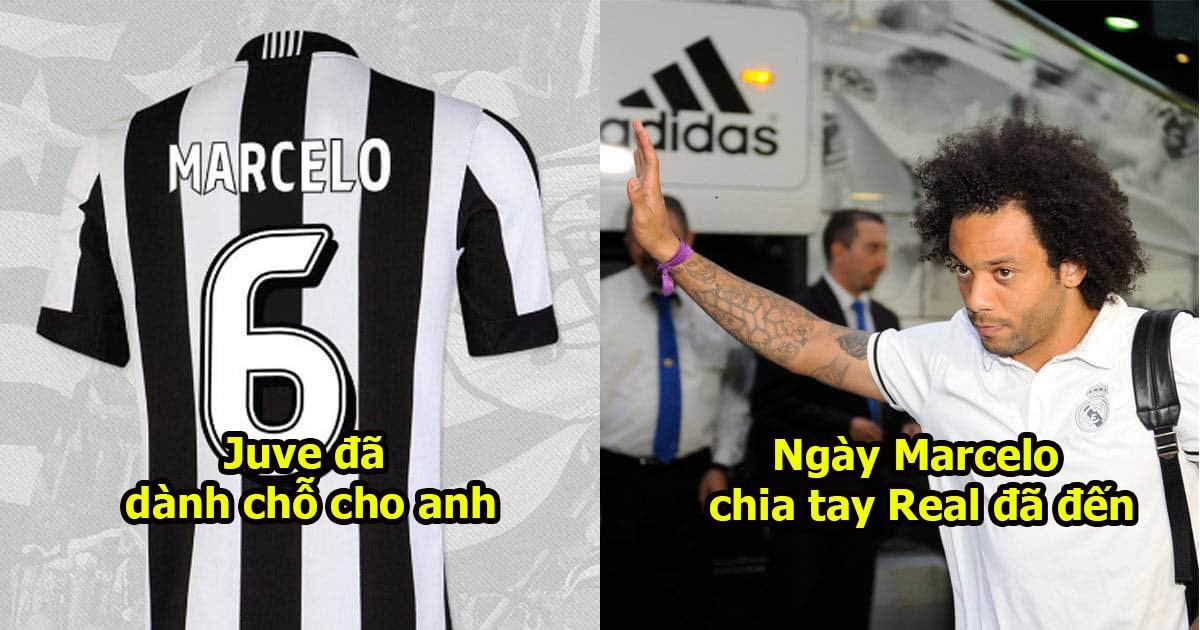 XONG: Juve hoàn thành nốt 1 điều khoản cuối cùng, Real buộc phải bán Marcelo thật rồi.