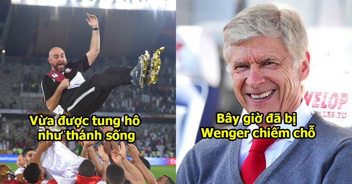 Đã tìm ra nguyên nhân vì sao HLV Qatar sẽ bị sa thải để Giáo sư Wenger đến thay thế ?