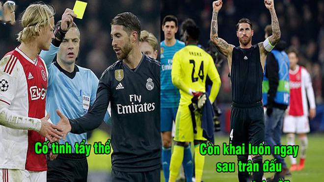 """Cố tình """"tẩy thẻ"""" rồi lại khai luôn trên sóng truyền hình, Ramos sắp phải nhận án phạt nặng từ UEFA"""