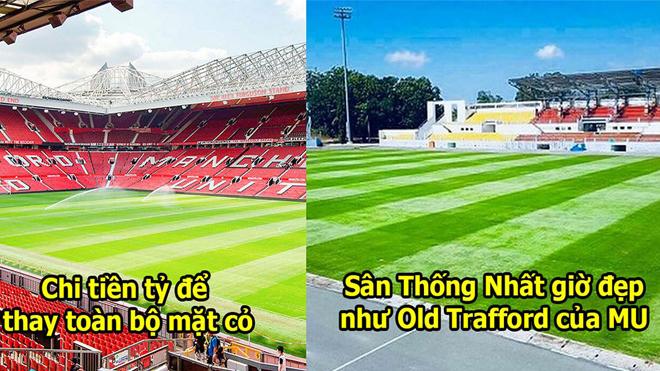 Sân Thống Nhất bỏ tiền tỷ làm mặt cỏ đẹp như Ngoại hạng Anh, phục vụ U23 Việt Nam chinh phục giấc mơ Vàng