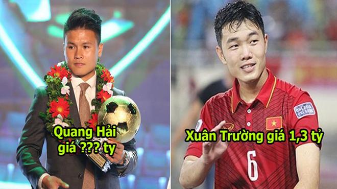 Top 10 cầu thủ đắt giá nhất Việt Nam: Sang Burinam với mức giá khổng lồ, Xuân Trường vẫn chưa bằng Quang Hải