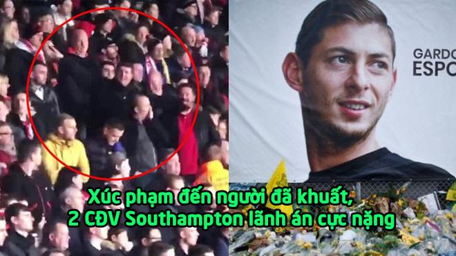 2 CĐV Southampton bị b.ắt vì xúc phạm cái c.hế t của Emiliano Sala