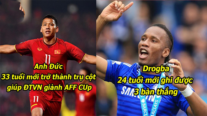 10 đóa hoa nở muộn rực rỡ nhất làng bóng đá Thế Giới: Tự hào với 2 huyền thoại Việt Nam