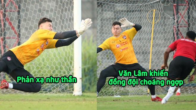 Phản xạ như thần, Đặng Văn Lâm khiến đồng đội ở Muang Thong United choáng ngợp về trình độ của mình