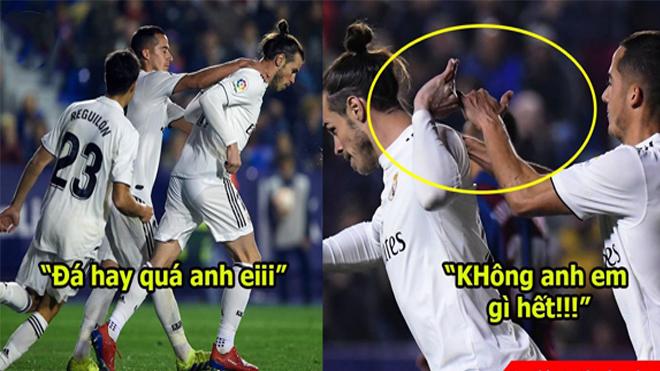 Chê Ronaldo ích kỷ mà bây giờ Bale còn lố bịch hơn nhiều: Không thèm cười với đàn em vì bị chiếm chỗ đá chính
