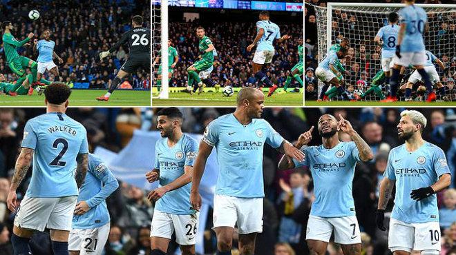 Kết quả Man City vs Watford: Bước ngoặt trọng tài, hattrick ngôi sao