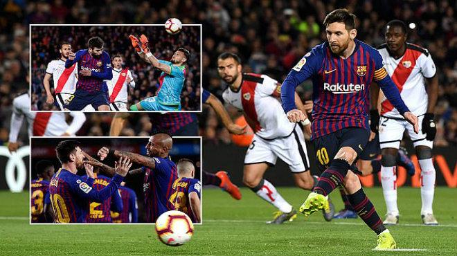 Kết quả Barcelona vs Rayo Vallecano: Đại tiệc tấn công, độc chiếm ngôi đầu