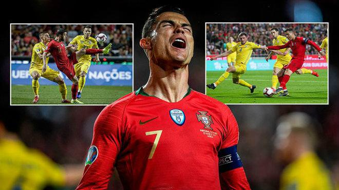 Kết quả Bồ Đào Nha vs Ukraine: Ronaldo tái xuất, kết quả thất vọng