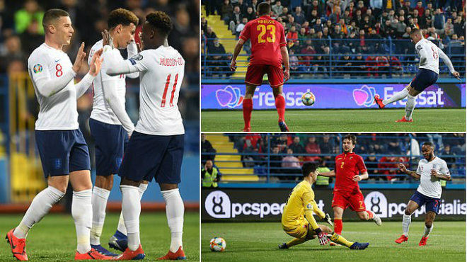 Kết quả Montenegro vs Anh: Đỉnh cao ngược dòng, 6 bàn tưng bừng