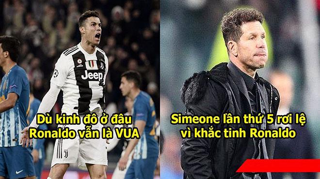 5 điểm nhấn trận Juve 3-0 Atletico: Ronaldo là Ông Vua của những trận cầu lớn, Simeone bị dạy cho 1 bài học nhớ đời