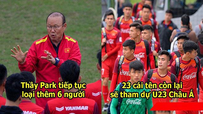 Thầy Park tiếp tục loại 6 cầu thủ khỏi chiến dịch vòng loại U23 Châu Á: Đáng tiếc nhất hàng tiền đạo