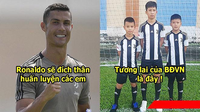Tuổi trẻ tài cao, 3 thần đồng Việt Nam được Juventus đặc cách tuyển thẳng sang Ý gặp thần tượng Ronaldo
