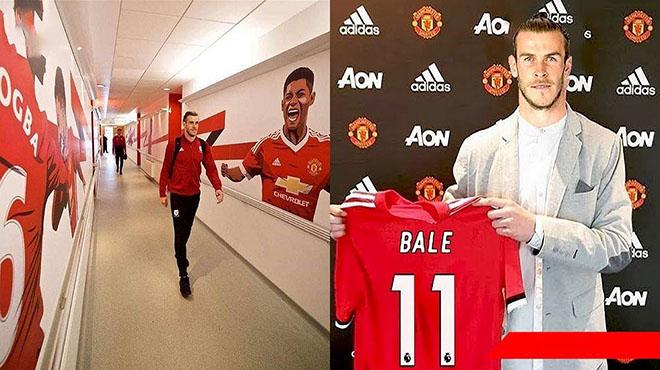 Bale cười tươi rói bước trong phòng thay đồ MU, bom tấn đỉnh nhất mùa hè sắp được công bố rồi?