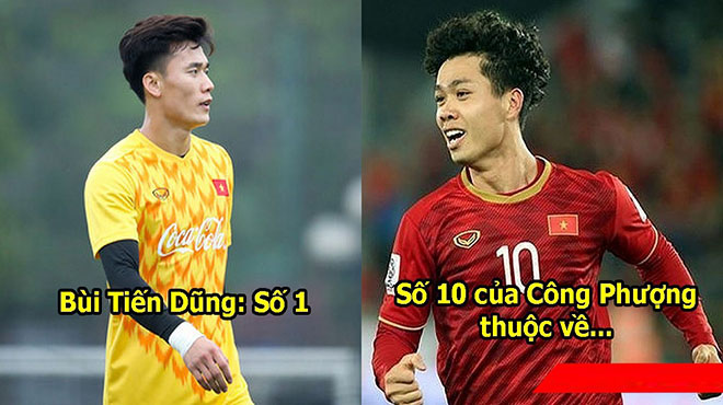 CHÍNH THỨC: Công bố số áo của U23 Việt Nam ở vòng loại Châu Á, chiếc áo số 10 huyền thoại của Công Phượng đã có chủ nhân mới