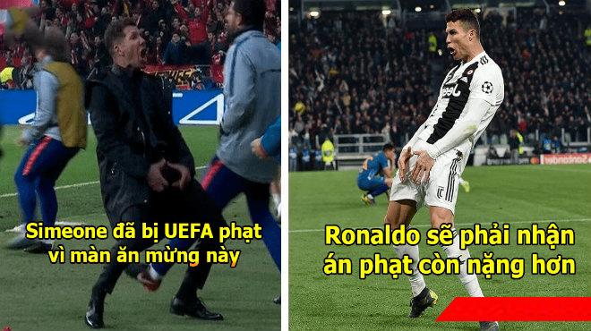 Ăn mừng trả đũa Simeone, Ronaldo đối mặt án phạt cực nặng khiến fan lo sốt vó