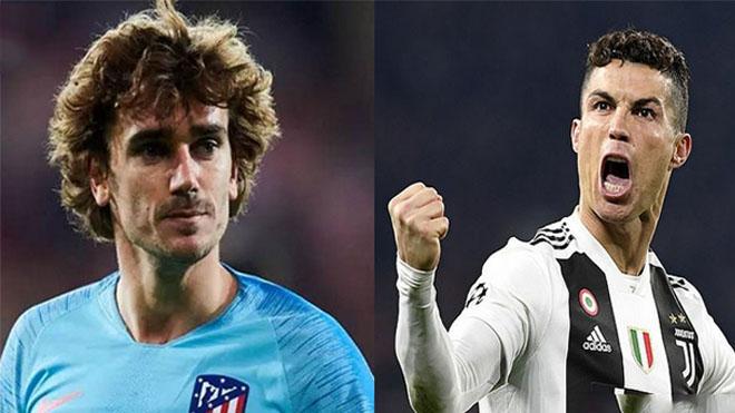 """Griezmann: """"Tôi ghét Ronaldo. Mỗi lần tôi muốn giành được thứ gì đó, anh ta lại đến và đánh cắp nó"""""""