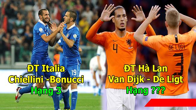 Top 10 cặp trung vệ thép ở ĐTQG: Pháp chỉ xếp thứ 4, vị trí số 1 khiến cả thế giới thèm khát