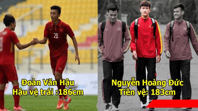 """Đội hình """"chuẩn"""" châu Âu của U23 Việt Nam với chiều cao trung bình 1m82, không còn nỗi lo bóng bổng nữa rồi!"""