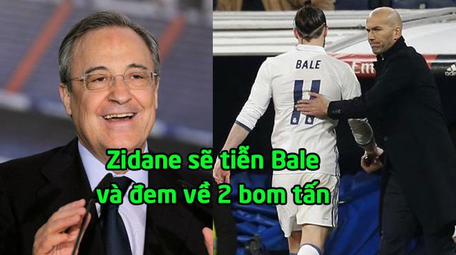 """Rung chuyển """"bom tấn"""" Real: Zidane bán Bale 64 triệu bảng, đón 2 SAO cực bự"""