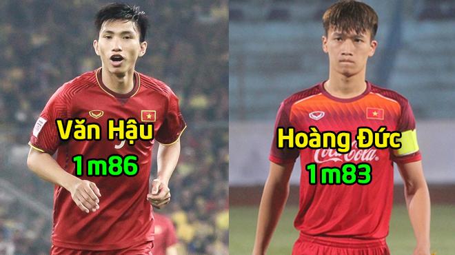 Top 10 cầu thủ cao nhất của U23 Việt Nam ở vòng loại U23 châu Á 2020: Số 1 cạnh tranh sòng phẳng với cả dàn sao châu Âu