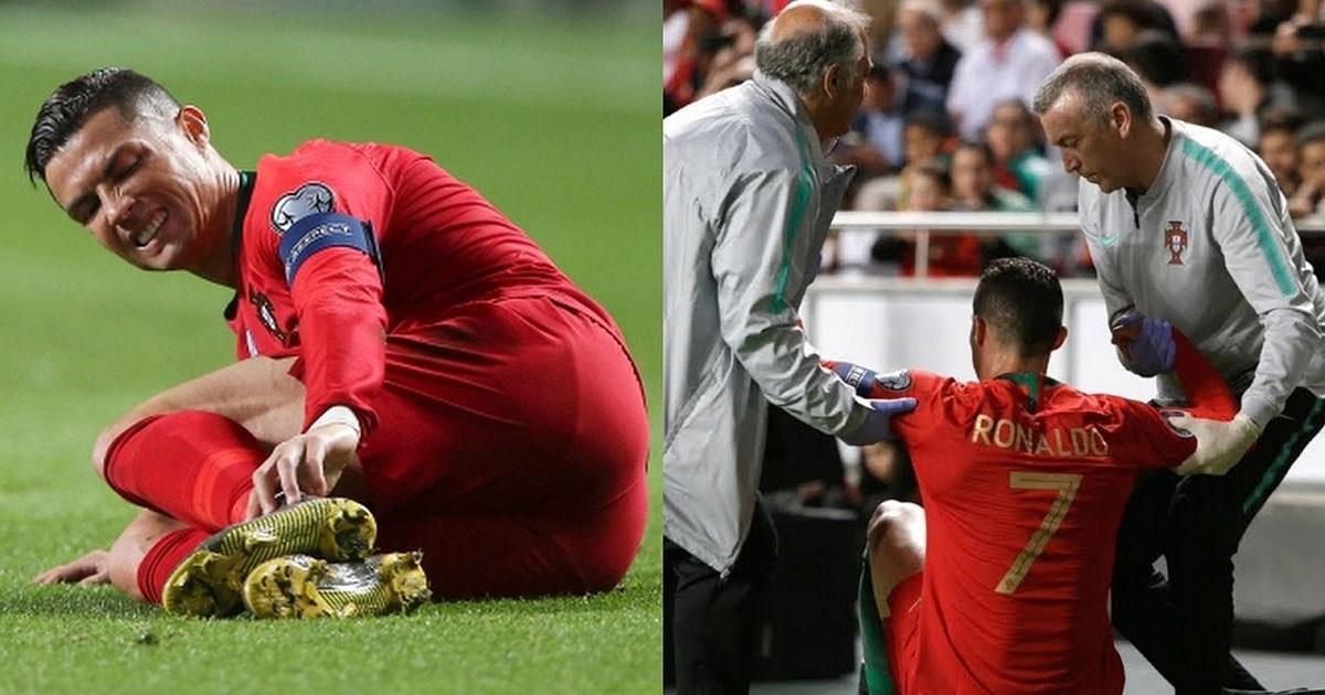NÓ.NG: Ronaldo dính chấn thư.ơng cực nặng, khả năng bỏ lỡ cả 2 trận tứ kết Champions League