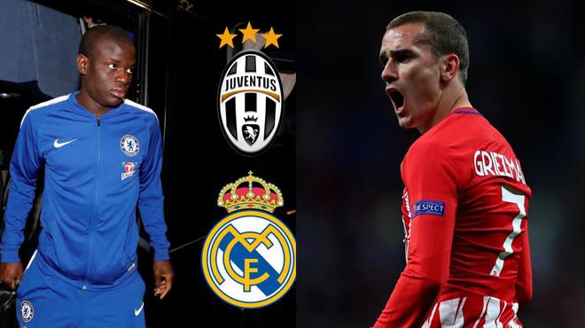 TIN CHUYỂN NHƯỢNG 20/3: Griezmann phũ phàng từ chối Barca, Real và Juventus tranh sao bự Chelsea