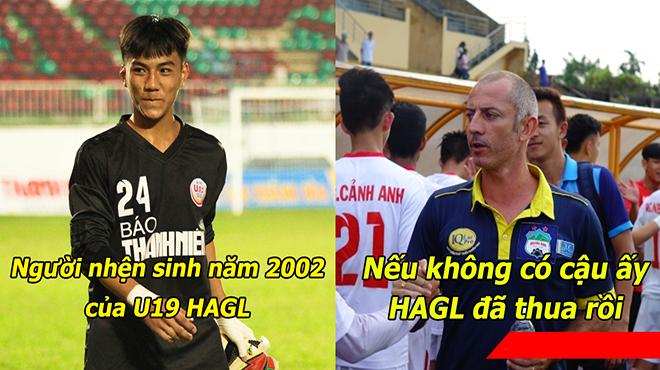 Lứa đàn em Công Phượng trình làng thủ môn không kém gì Văn Lâm, Tiến Dũng trong trận thắng U19 Viettel