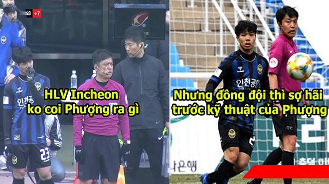 """Bị HLV trù úm không cho vào sân, các đồng đội ở Incheon vẫn khen Phượng hết lời: """"Không ai có thể cản nổi cậu ta đâu"""""""