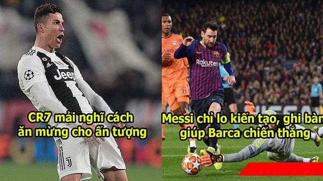 """CĐV Barca """"nổ"""" vang trời: 'Messi có thể thực hiện gấp đôi những gì mà Ronaldo làm được'"""