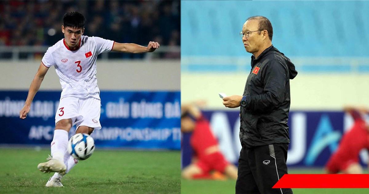 """Trung vệ U23 Việt Nam: """"Tôi từng hiểu lầm HLV Park Hang Seo"""""""
