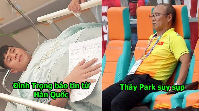 Trước thời hạn hội quân của U23 Việt Nam, thầy Park nhận tin dữ về Đình Trọng