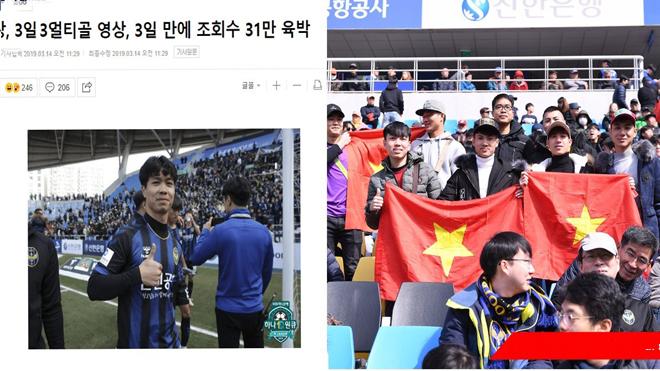 Truyền thông Hàn Quốc sửng sốt với lượt xem video các bàn thắng của Công Phượng, vậy mà không để cậu ấy đá chính sớm hơn!